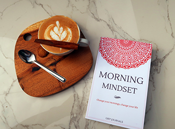 morning mindset mindfulness napló